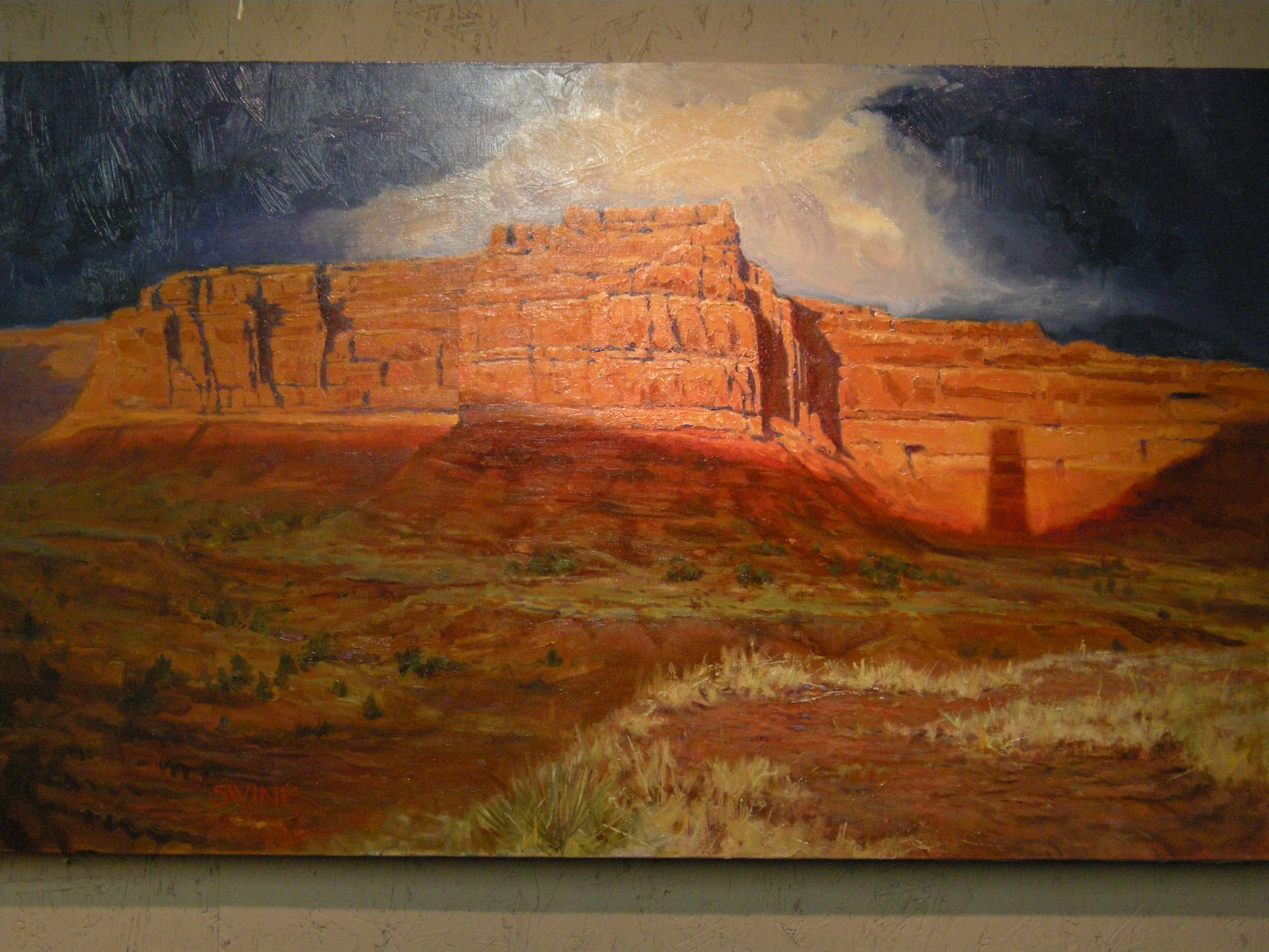 Valley of the Gods; 30 X 48, Corazza Collection