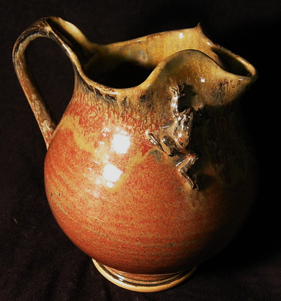 "Stoneware ""Frog Pitcher"" sold"