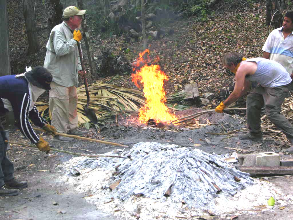 Smudging in Belize 2005